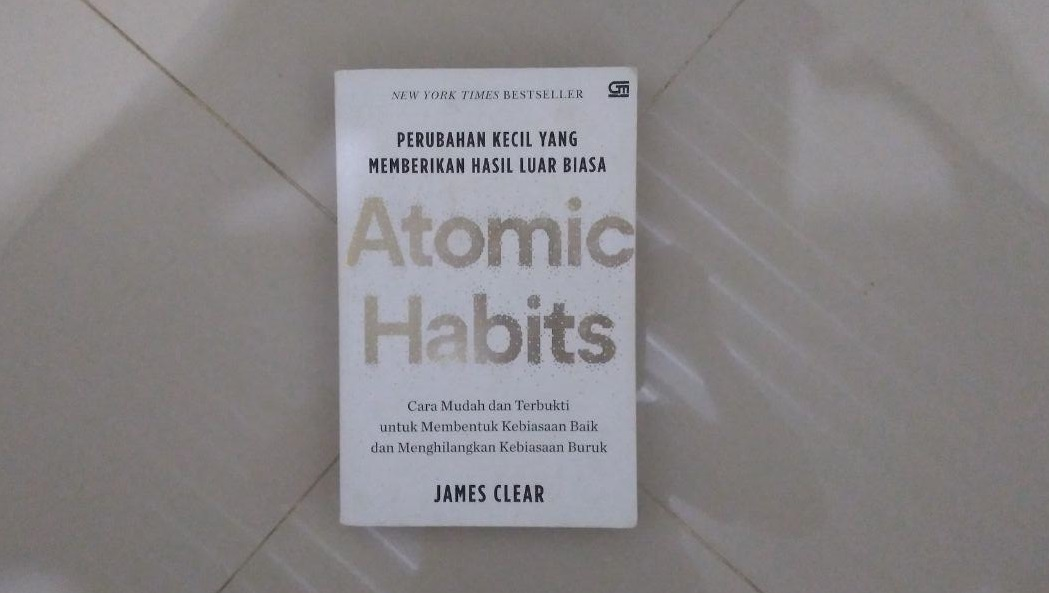buku atomic habits