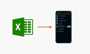 excel to android