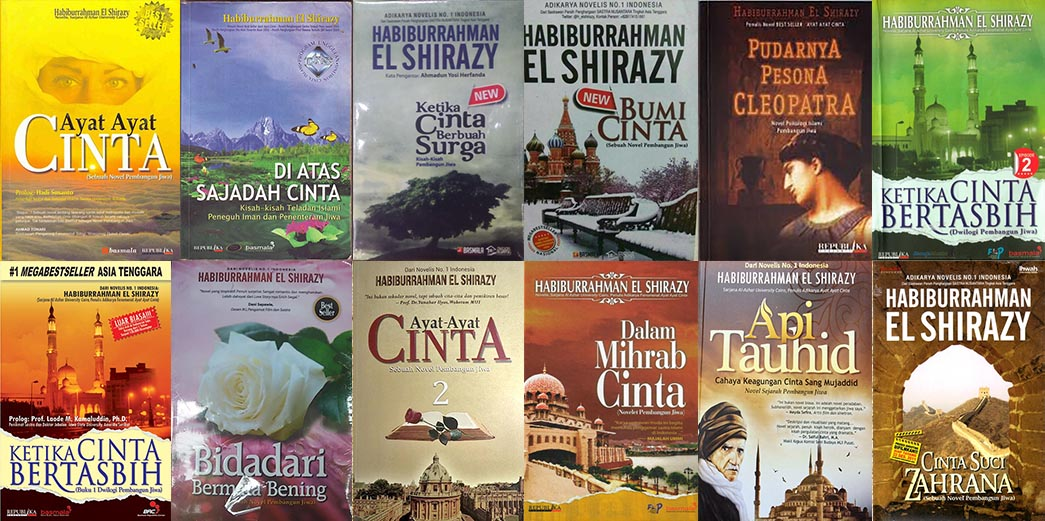 novel karya habiburrahman el shirazy
