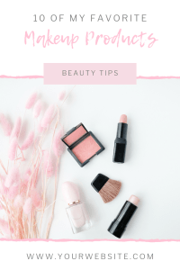 Free Canva Templates for Beauty Bloggers