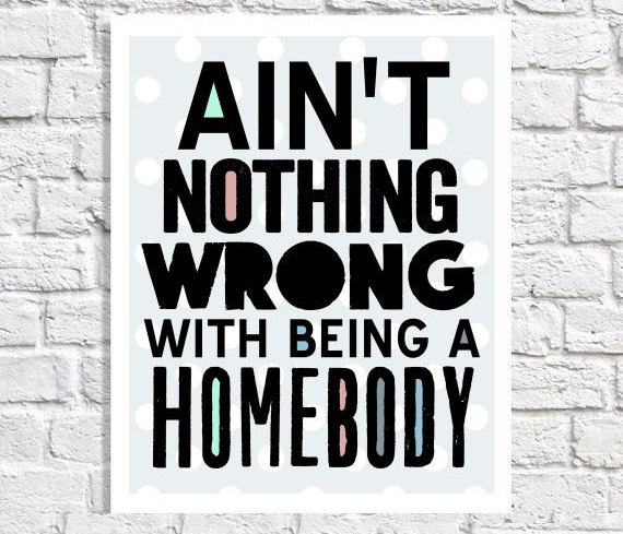 IntrovertDear.com homebody poster