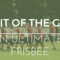 Spirit Of The Game in Ultimate Frisbee
