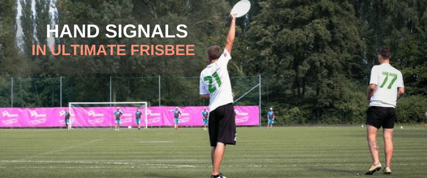 Hand Signals In Ultimate Frisbee