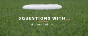 ultimate frisbee aurora lesnik interview