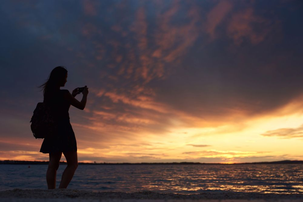 Introvert Lessons, capable, sunset