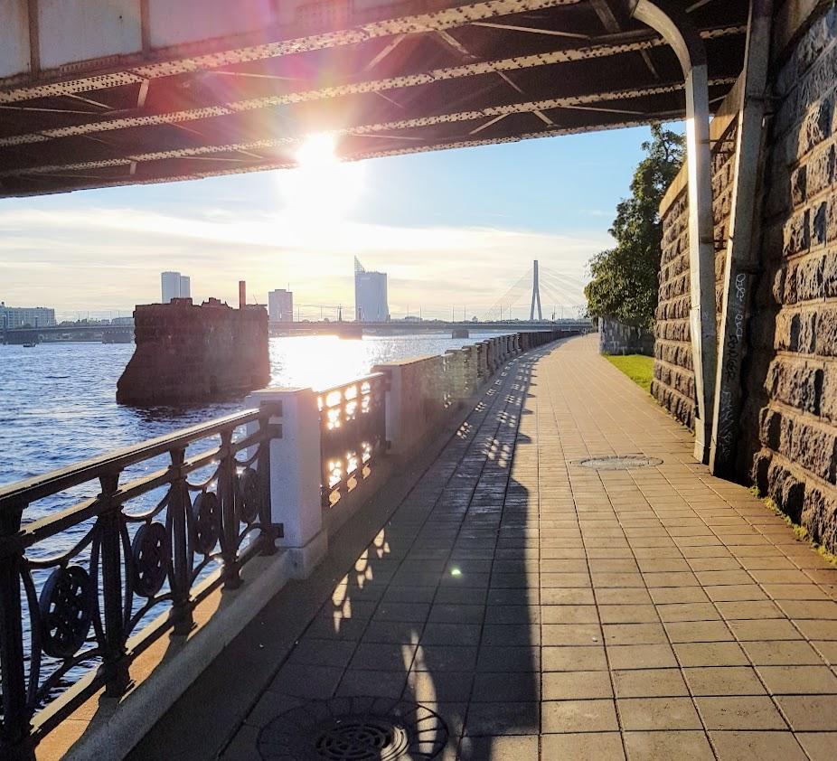 Introvert travel, Riga, Lativa