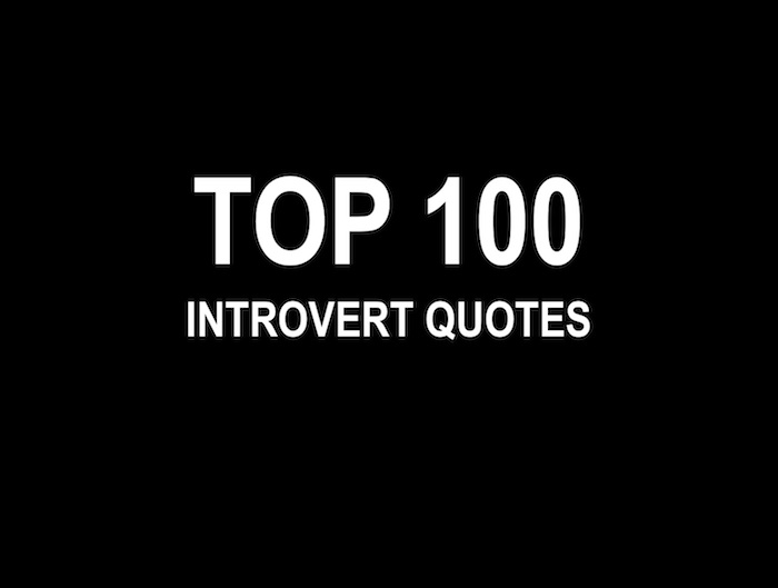 top 100 introvert quotes