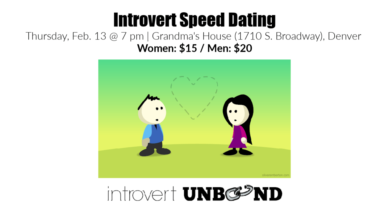 Introvert Speed Dating