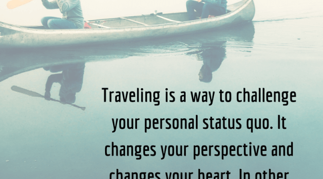 Travel as a Means to Spirituality