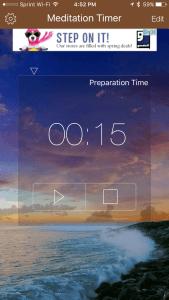 mindfulness timer
