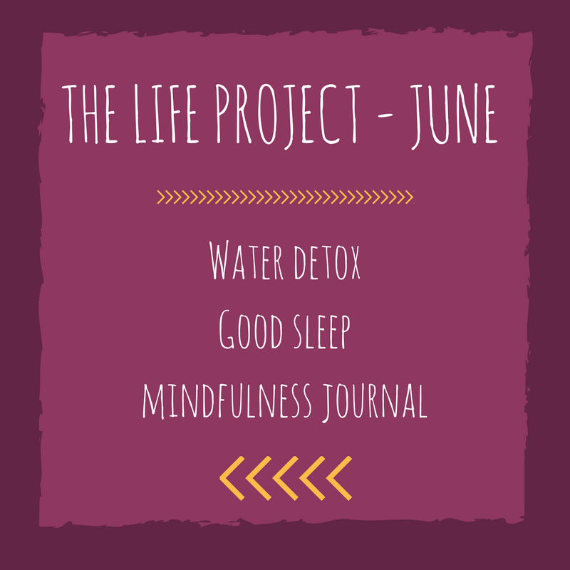 The LIFE Project – Drinking a gallon of water daily, NOT walking marathons, decluttering…