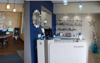 Skin Perfect Studio Reception Area