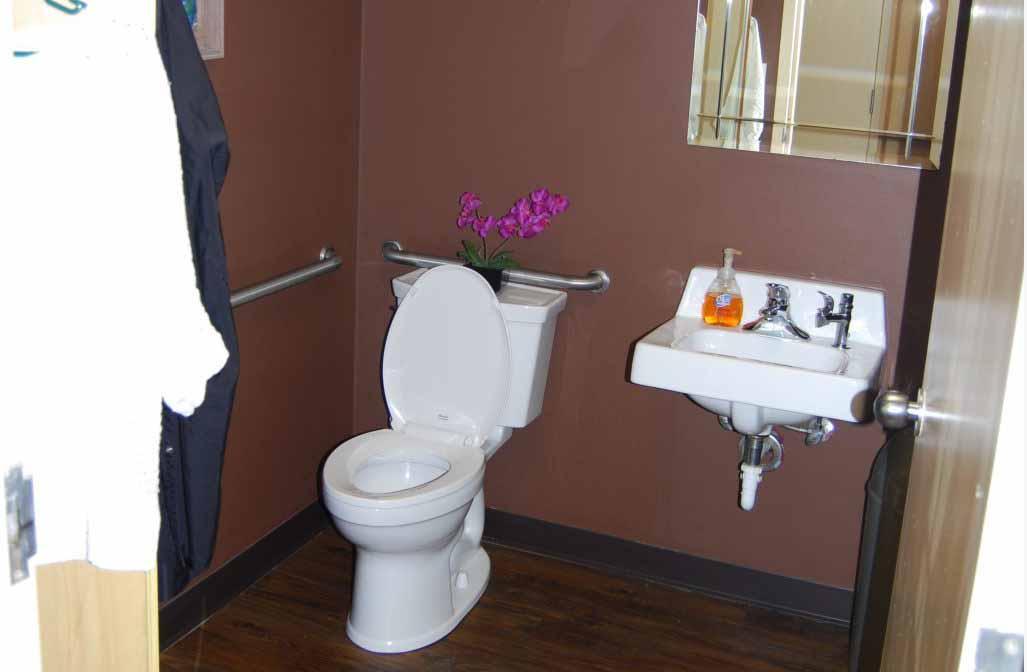 Restroom After