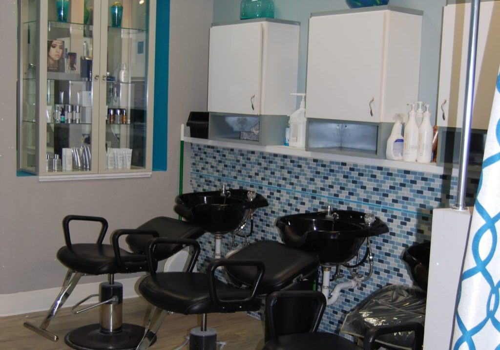 Skin Perfect Studio Wash Stations After