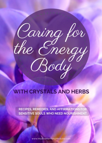 self care with crystals and herbs