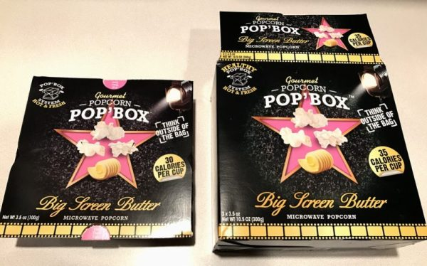 pop box microwave popcorn inconsistent calorie count packaging fail