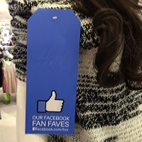 H&M Fan Favorite Tag In Store