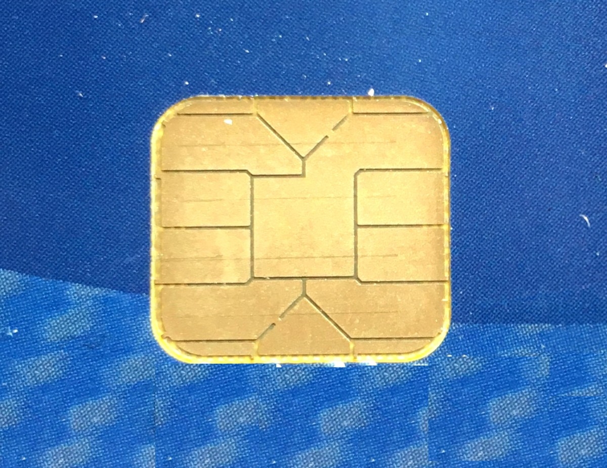 chip closeup, chip and pin credit card