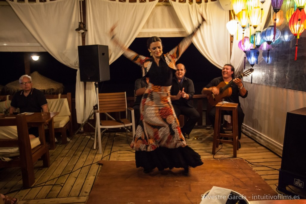 Noche flamenca en chiringuito Albatros