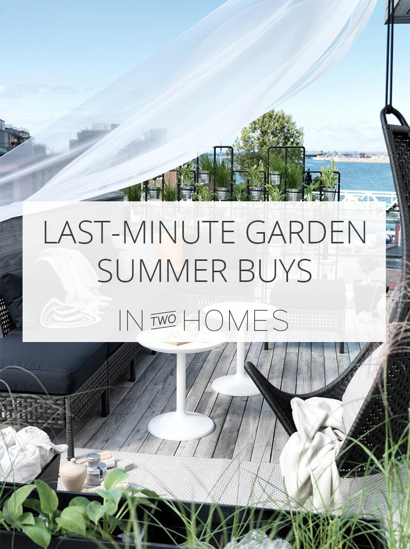 Last Minute Garden Summer Buys Pin