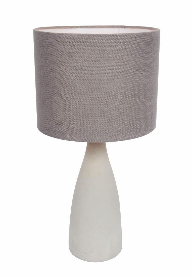 Debenhams grey and white lamp