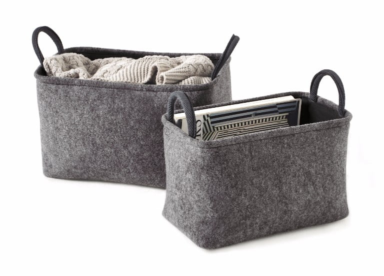 next grey storage baskets