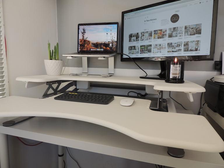 Desk Setup 2018 Standing Desk by Varidesk