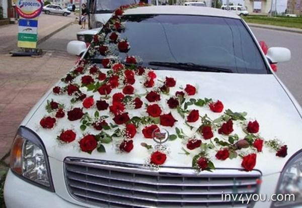 Фото как украсить машину на свадьбу традиционно, креативно ...