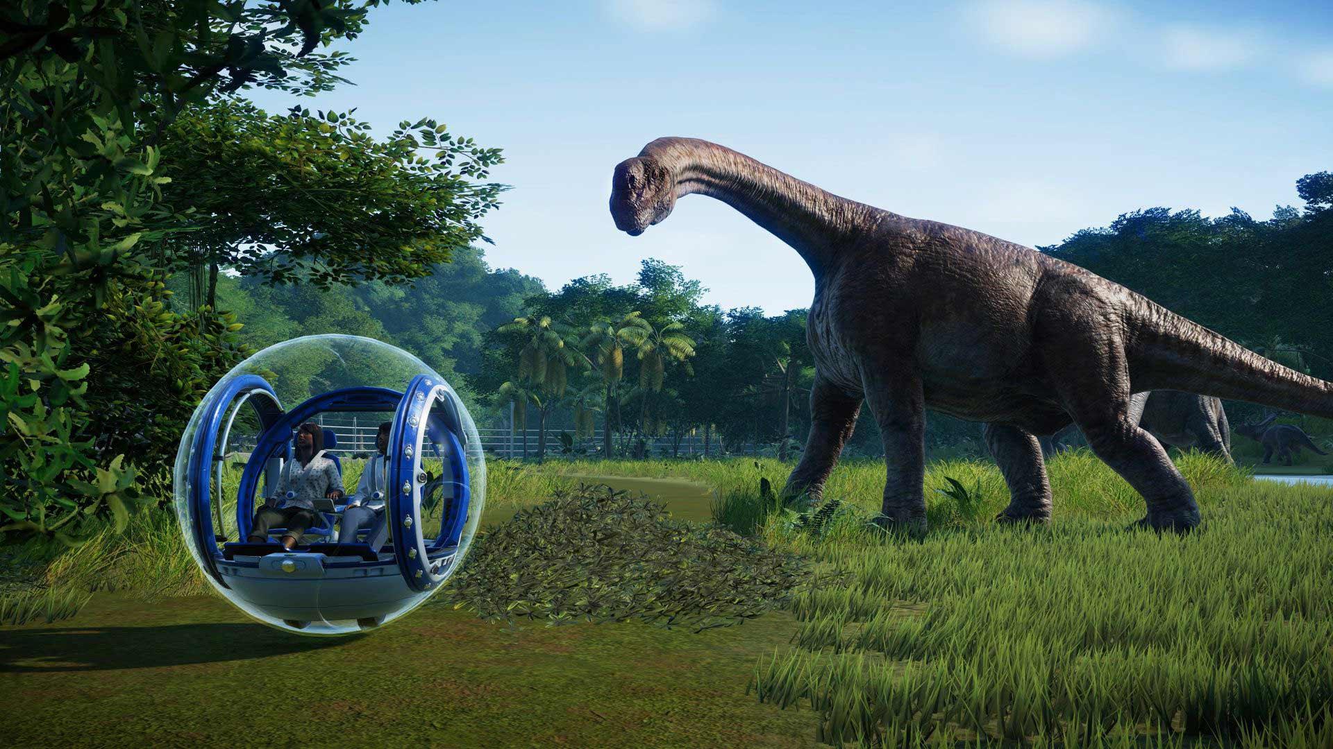 Gyroball Jungle brachiosaurus