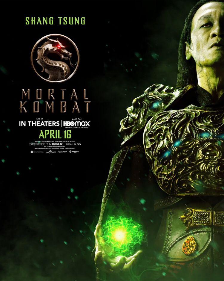 mortal kombat character poster shang tsung