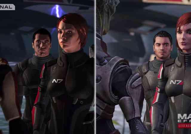 Mass Effect Legendary Edition Graphics