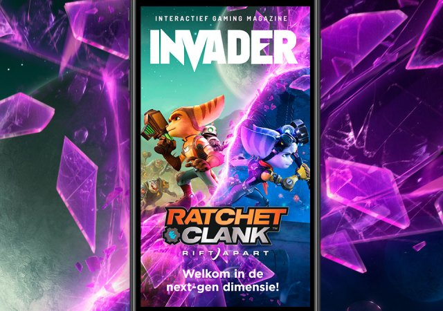 Ratchet clank cover Invader