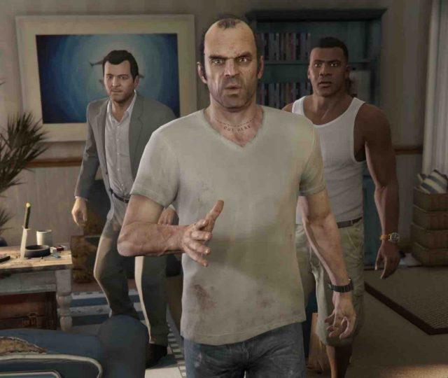 GTA V PS5 Xbox Series