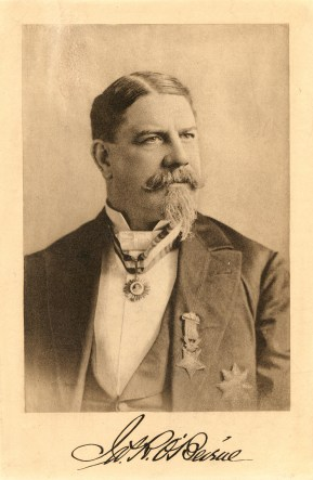 OBeirne with goatee and jacket. With Medal of Honor