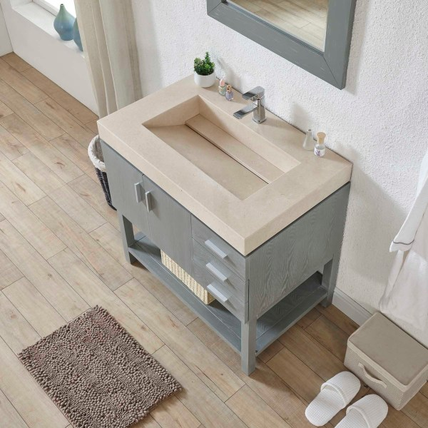 white marble top grey bathroom cabinets riverside county