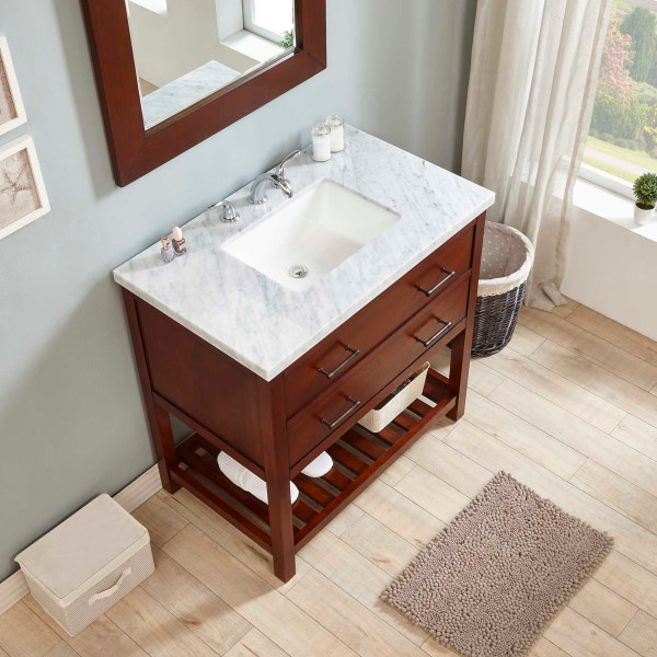 white marble oak wood vanity bathroom vanities riverside