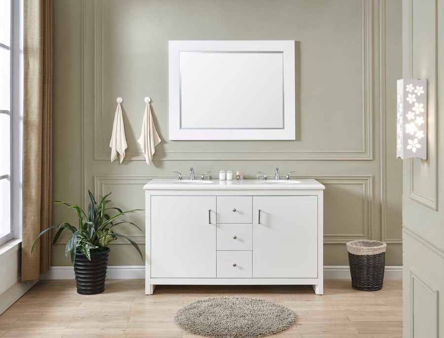small double sink vanity cathedral city, ca ready to assemble cabinets