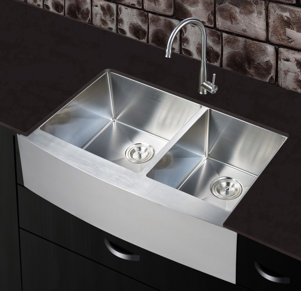 modern double sink stainless steel sink indio, ca