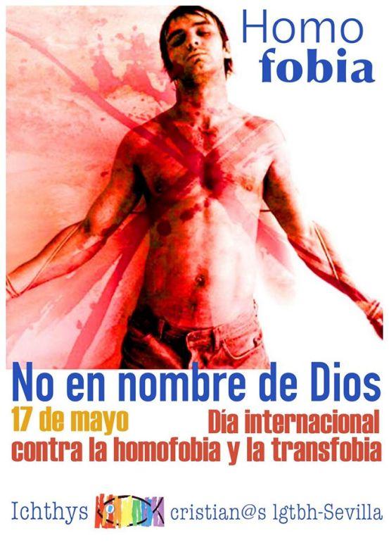 Vigilia de Oracion por un mundo sin Homofobia, 20 de Mayo de 2016 - Sevilla (Espana)