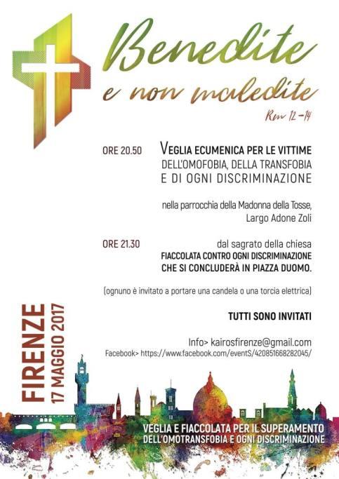 Manifesto Veglia di Firenze 2017