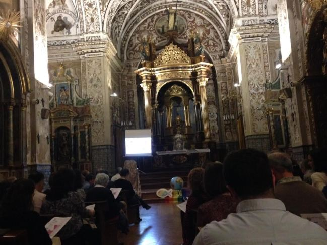 SEVILLA (Espana). 12 de mayo 2017. Vigilia de oración por un Mundo sin homofobia