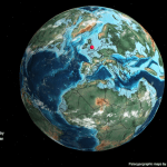 New Map Lets You See Where Your Hometown Used to Be Millions of Years Ago