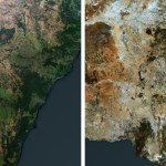 Alarming Before and After Images Show the Impact of Australia's Bushfires