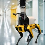 Spot the Robot Dog to Measure COVID-19 Patients' Vitals