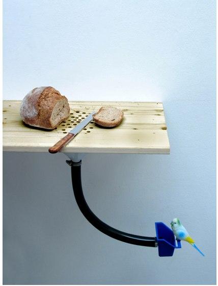 Une planche à pain anti-miettes