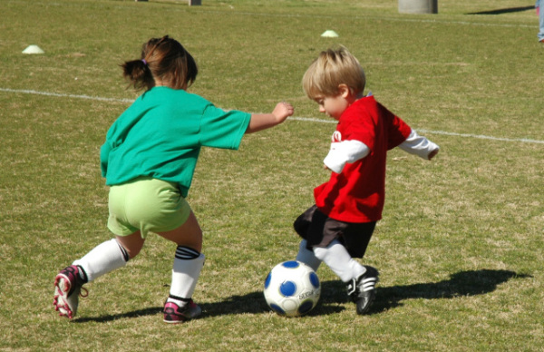 Image result for young kids learning soccer