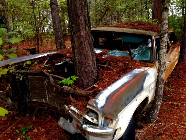 Trunks In Their Trunks The Top 10 Abandoned Cars