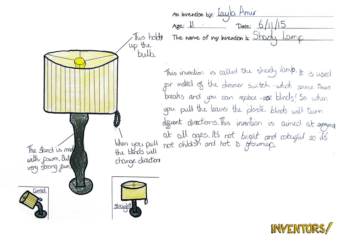 Venetian Blind Table Lamp