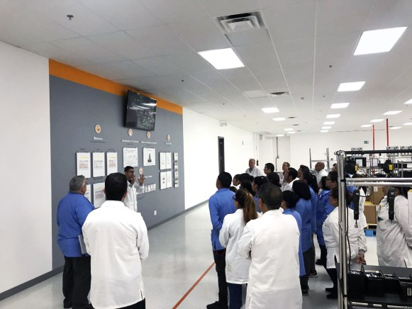 As a site that builds healthcare products, Tijuana employees follow a Patient Priority Program and pledge to make safety & quality a priority in their work.