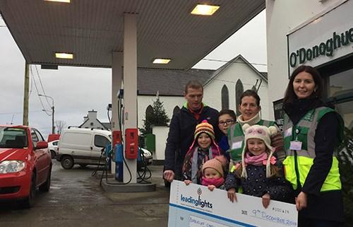 Leading Lights sponsorship to Barraduff Cardiac Response Unit.